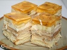Ciasto budyniowe.