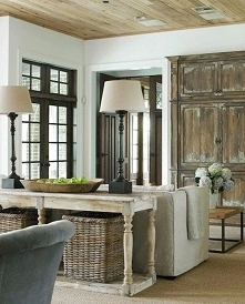 french country living room ...