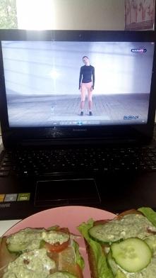 JUZ MAM:)) kto ze mną dzis jadl śniadanie? hehe Ewa i nowy kit fit:))) przest...