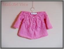 Sweterek dla dziewczynki 1-...