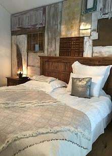 Sypialnia w stylu vintage..