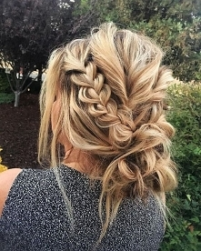 Elegancka fryzura <3