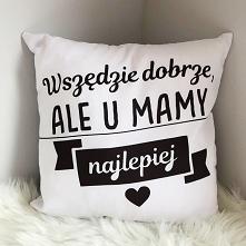 Poduszki z nadrukami na Dzień Mamy - pomysły na prezent na swagshoponline.pl ♥