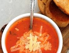 Zupa pomidorowa z serem i g...