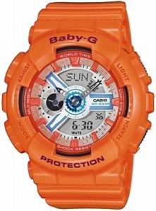 Casio BA-110SN-4AER sportowy zegarek dla kobiet i dzieci wykonany z tworzywa....