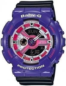 Casio BA-110NC-6AER damski zegarek dla kobiet i dzieci z kolekcji Baby-G, odp...