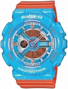 Casio BA-110NC-2AER sportowy zegarek dla kobiet i dzieci z kolekcji baby-G. W...