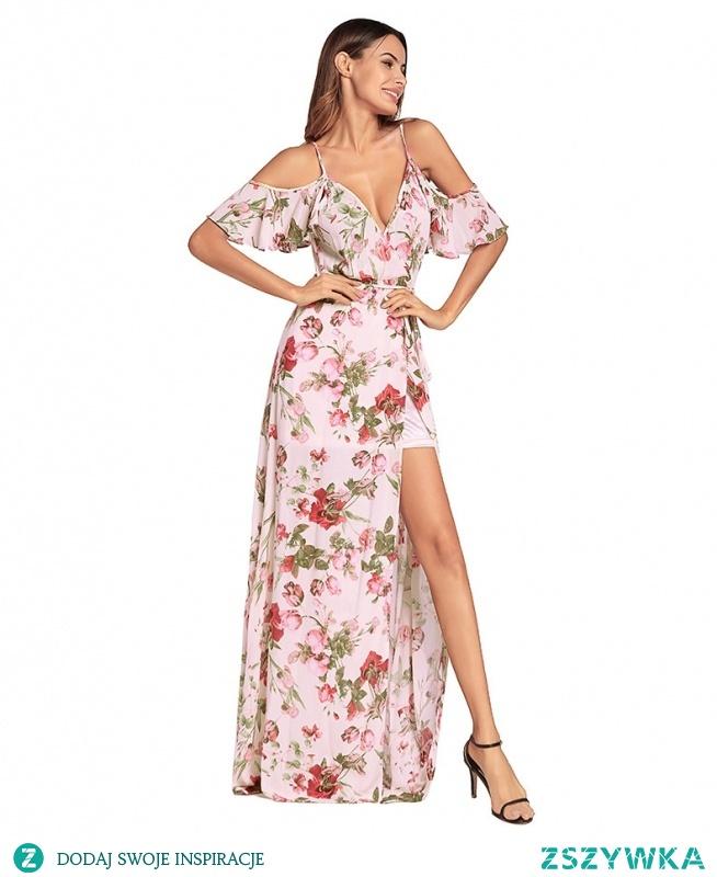 Długie kwieciste sukienki są na topie w tym sezonie! Lekkie i zwiewne, a do tego prześliczne <3 kliknij w zdjęcie i zobacz gdzie kupić!