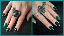 evil green nails
