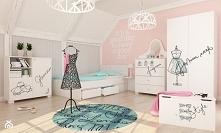 śliczny pokój dziewczęcy