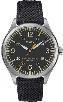 Timex TW2R38500 zegarek męski zasilany baterią, którego stalowa koperta przylega do skórzanego paska w kolorze czarnym. Wyróżnia go podświetlana tarcza. Aby przenieść się do skl...