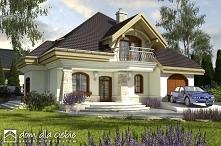 Projekt domu Dzierlatka II - klasyczny, rodzinny dom odpowiedni dla 5-6 osobowej rodziny. Dzierlatka II to blisko 180 metrów wygody.