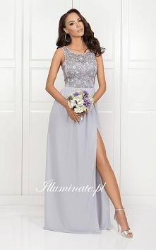 Piękna, długa sukienka z ko...