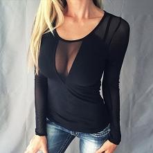 Modna stylizacja z czarną spódnicą na MÓJ STYL ♥ Zszywka.pl