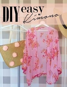 Uszyj kimono na plażę! DIY