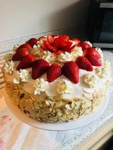 Tort urodzinowy dla drugiej połówki :)