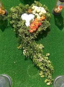 Mój stroik na grób