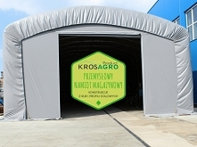 Przemysłowy namiot magazynowy to solidna, uniwersalna konstrukcja do magazynowania i garażowania przeznaczona zarówno dla dużych przedsiębiorstw i małych firm.