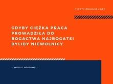 Witold Wójtowicz cytat o ci...