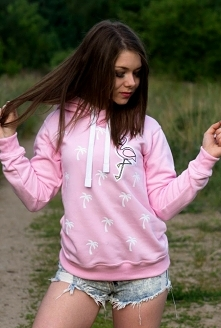 Prześliczna, modna różowa b...