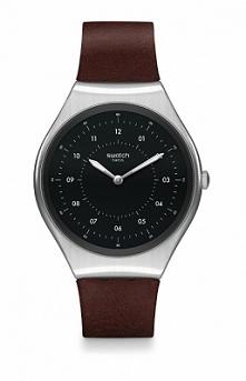 Swatch SYXS102 klasyczny zegarek damski z czarną tarczą mocowany do brązowego paska z naturalnej skóry. Aby przenieść się do sklepu kliknij w zdjęcie :)