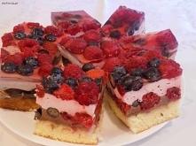 Ciasto owocowe z galaretką ...