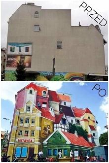 Mural w Poznaniu.