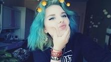 scene, punk, emo girl