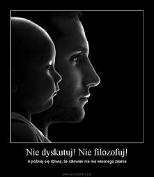 Można wiele mówić, a nie przerwać milczenia, a zarazem można niewiele mówić, ...