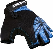 W-TEC Damskie rękawice rowerowe Klarity AMC-1039-17 czarno-niebieskie r. XL (...