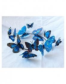Motylkowy wianek! <3 ide...