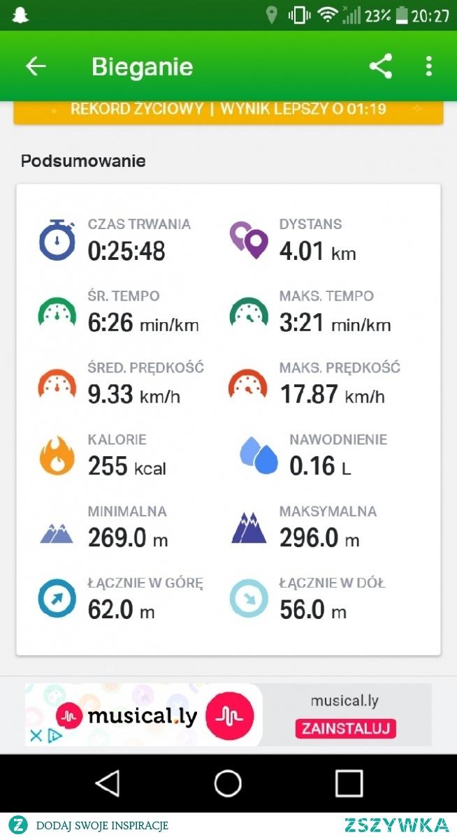 Dla mnie każdy kolejny pokonany kilometr to zwycięstwo ✌❤❤