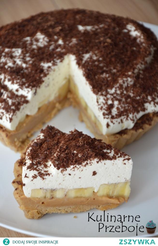 Banoffee pie - ciasto bananowo kajmakowe bez pieczenia