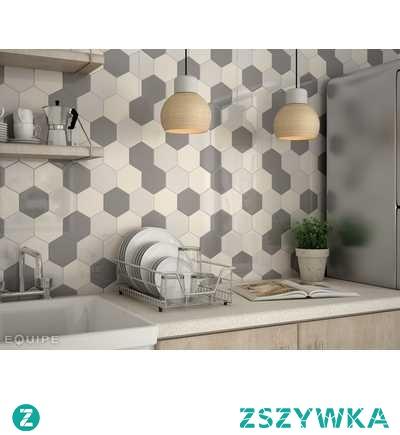 Płytki heksagonalne do kuchni