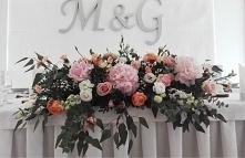 Kwiaty na stół Młodych