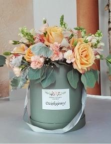 Flower box jako podziękowan...