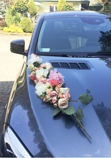 Dekoracja samochodu Państwa...