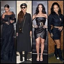 Rihanna na czarno, co myśli...