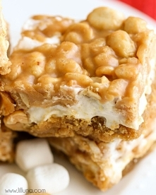 MARSHMALLOW PEANUT BARS