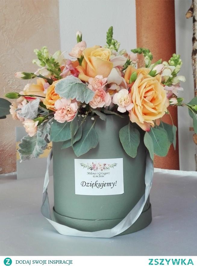 Flower box jako podziękowanie dla rodziców <3