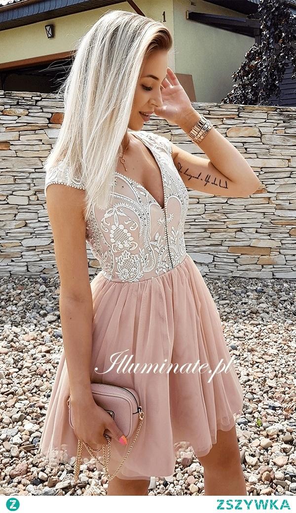 Przepiękna karmelowa sukienka z kolekcji Illuminate <3 Idealna na wesele <3