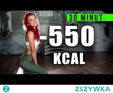 GORĄCE SPALANIE W 30 MINUT! INTERWAŁOWY TRENING ODCHUDZAJĄCY / spal 550 kalorii !