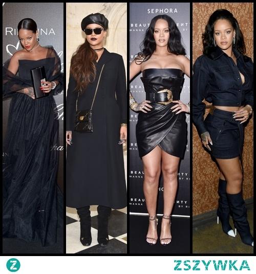 Rihanna na czarno, co myślicie?
