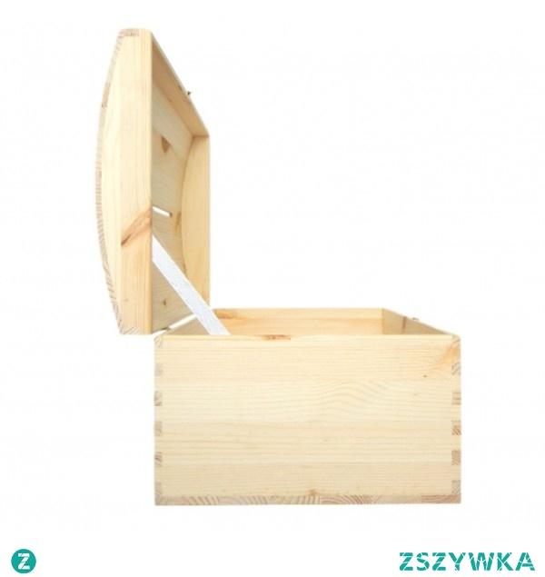 Kuferek z nacięciem na koperty. Kliknij w zdjęcie i przejdź do Pinus Shop