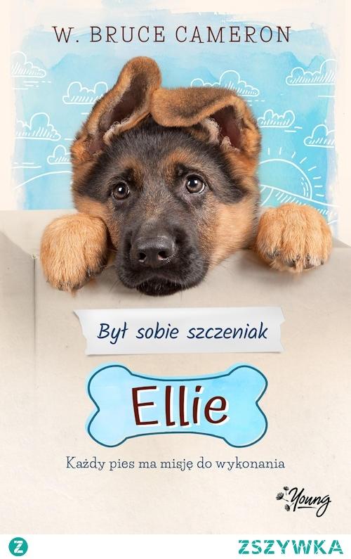 Uroczy pyszczek młodego owczarka niemieckiego z oklapłymi uszkami zaprasza do zapoznania się z historią psa który wabi się Ellie. Jest to suczka, która opowiada nam swoją historię od pierwszych chwil na świecie do psiej emerytury. Jako narratorka i główna bohaterka w klarowny i zrozumiały sposób dla młodych czytelników prowadzi nas przez swoje życie.  Każdy kto kocha czworonożnych przyjaciół może śmiało spędzić czas czytając tę najnowszą powieść o psie ratowniku.