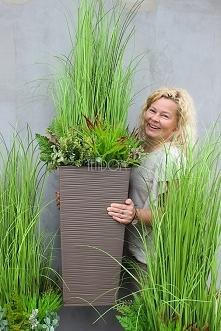 eleganckie, sztuczne trawy z pracowni tenDOM