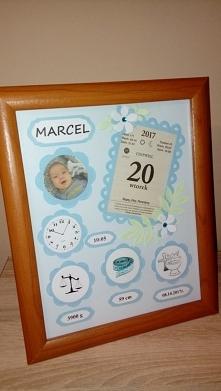 Metryczka Marcela