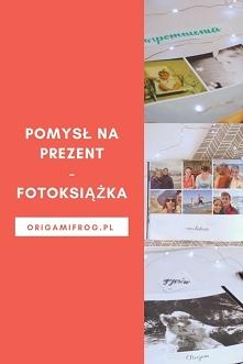 Pomysł na prezent - fotoksiążka Kod rabatowy -40% na fotoksiążkę od Printu.pl...