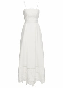 Sukienka ślubna bonprix biały