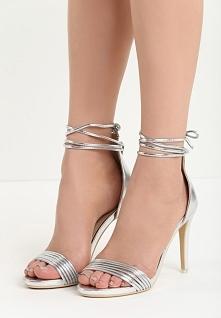 Srebrne Sandały Flashes